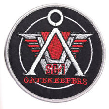 """Stargate SG-1 Gatekeepers Logo 4"""" Embroidered Uniform Patch- FREE S&H (SGPA-10)"""