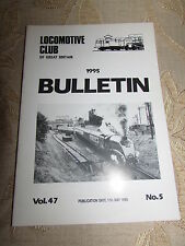 Locomotive Club Of Great Britain Bulletin 17th May 1995 No.5