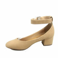 Women's Cute Causal Round Toe Low Chunky Low Heel Sandal Shoes Size 5 - 10 NEW