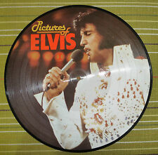 "ELVIS PRESLEY PICTURES OF ELVIS 1, 12"" PICTURE DISC LP 1984 DENMARK NM AR 30.001"