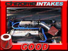 BLACK RED AIR INTAKE KIT FOR 01 02 03 04 05/2001-2005 HYUNDAI ACCENT WITH 1.6L