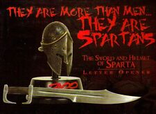300 Movie FRANK MILLER Greek Spartan King Leonidas HELMET SWORD LETTER OPENER