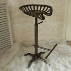 Iron tractor barstool seat bar stool chair cast iron vintage kitchen dining