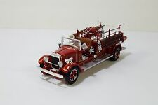 Road Signature 1932 Buffalo Type 50 Fire Engine 1:43 Scale Diecast Model Used