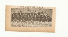 New Albany Indiana 1929 Football High School Team Picture
