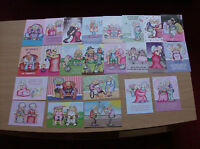 """Hunkydory A6 Toppers """"The Little Book Golden Oldies"""" ( 24 in Total ) Sample Pack"""