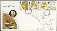 GB FDC 1993 Marine Timekeepers, London SE1 FDI #C34944