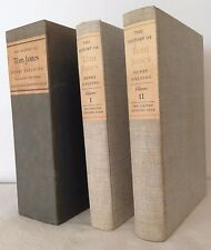 History of Tom Jones  Henry Fielding Limited Editions Club 1952 2vol Signed w/Lt