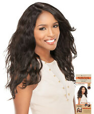 100% Brazilian Virgin Remi Unprocessed Human Hair Lace Wig Wavy - UK SELLER