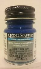 Testors Model Master Acrylic paint 4661, Ford/GM engine Blue.