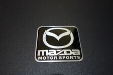 Mazda Motor Sports Embossed Metal Car Badge Emblem Sticker Logo MX5 RX7 RX8 CX5