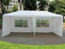 3 x 6M PARTY WEDDING TENT GAZEBO GARDEN MARQUEE CANOPY WHITE EVENT OUTDOOR BEACH