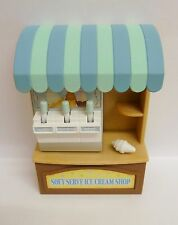 SYLVANIAN FAMILIES SPARES * ICE CREAM STALL * COMBINED P+P NEW NO ACCESSORIES