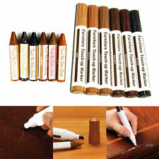 12x Piece Furniture Repair Kit, Markers & Filler Sticks, Restore Wood Surface