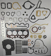 FULL ENGINE HEAD SUMP GASKET SET BOLTS DEFENDER DISCOVERY 1.6mm 2.5 TDi 200 VRS