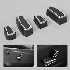 4pcs Front Seat Adjustment Switch Cover For 2011-15 Jeep Grand Cherokee Patriot