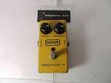 VINTAGE 1987 MXR DISTORTION + PLUS EFFECTS PEDAL BLOCK LOGO FREE SHIP