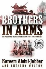 Brothers in Arms (Random House Large Print Biography)