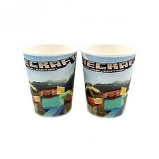 ♛ Shop8 : 10 pcs MINECRAFT PAPER CUPS Birthday Theme Party Needs
