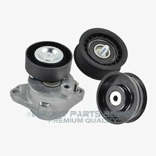 Mercedes Belt Tensioner W/ Pulley + 2 Idler Pulley Premium Quality 27202/10/14