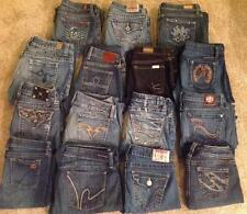 WHOLESALE RESALE LOT 15 Pairs of Designer and High Quality Brand Name Jeans