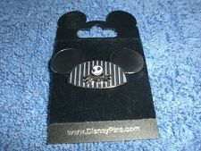 Disney Nightmare NBC JACK SKELLINGTON ON MICKEY MOUSE EARS HAT 3-D  Pin