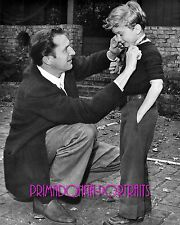 VINCENT PRICE & VINCENT BARRETT PRICE 8x10 B&W Photo RARE FATHER, SON PORTRAIT