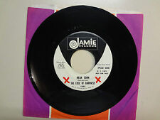 """EDGE OF DARKNESS:Mean Town 2:20-So Many Years3:18-U.S. 7"""" Jamie Records 1363 DJ"""