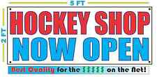 HOCKEY SHOP NOW OPEN Banner Sign NEW Larger Size Best Quality for the $$$