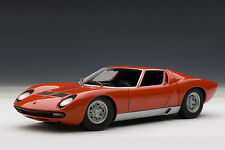 Lamborghini Miura SV, Red 1:18TH Scale AutoArt 74543