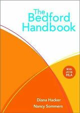 The Bedford Handbook by Diana Hacker and Nancy Sommers 2016,Hardcover Eval copy
