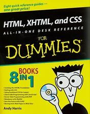 HTML, XHTML, and CSS All-in-One Desk Reference For Dummies (For Dummie-ExLibrary