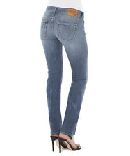"TRUE RELIGION KAYLA REGULAR STRAIGHT LEG JEANS 28"" X 32"" MADE IN ITALY BNWT"