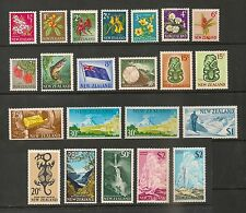 New Zealand #382-404 VF MNH - 1967 1/2c to $2 Scenes - SCV $120.15