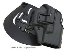 Blackhawk Serpa CQC Holster For Smith & Wesson M&P 9/40 Pistols 410525BK-R