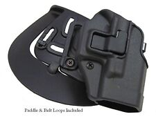Blackhawk Serpa CQC Holster for GLOCK 20 21 Pistols RH Matte Black 410513BK-R
