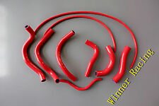 3-ply RED Silicone Radiator Coolant Hose Fit Honda CBR1000F CBR 1000 F 1987-1988