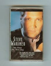 STEVE WARINER - NO MORE MR. NICE GUY - CASSETTE - NEW