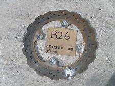 B26 KAWASAKI ER6N ER6NL ER650C 2008 REAR DISC ROTOR GEN KAWASAKI