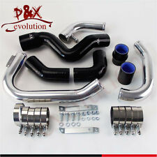 Black Intercooler Piping pipe Kit for 2002-2006 Audi A4 1.8T Turbo B6 Quattro