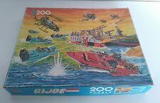 Puzzle G.I. JOE / GIJOE action force de 1986 MB 200 pièces
