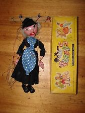 Vintage Pelham Puppet Witch in Box