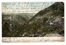 1908 Vintage postcard Hundalen, Norway mountain homes