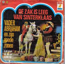 Vader Abraham-De Zak Van Sinterklaas Is Leeg Vinyl single