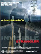 INVISIBLE STRANGLER (Stefanie POWERS) Sci-Fi THRILLER Film DVD (NEW SEALED)