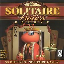 Solitaire Antics Deluxe (Jewel Case) Masque CD-ROM