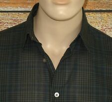John Varvatos Collection Shirt in Lake M 34/35 Button-Down Classic Fit $298.00