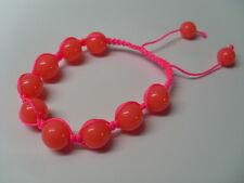 Bracelet chamba rose fluo