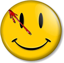 "Watchmen Smiley 1"" 25mm Pin Button Badge Novelty Geek DC Comics Blood Superhero"