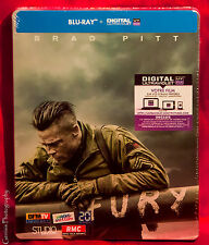 Fury - Limited Edition Steelbook (Blu-ray) Region Free * Brand new
